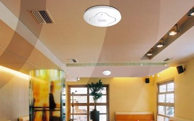 wifi access point on ceiling